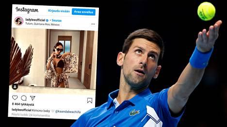 Musiikin parissa uraa luova Lidija Popovic muisteli suhdettaan tennistähti Novak Djokoviciin.