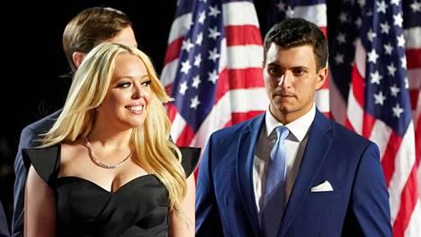 Tiffany Trump meni kihloihin 23-vuotiaan miljonääripoikaystävänsä kanssa.
