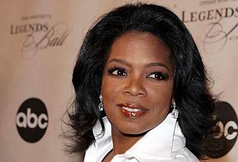 Talkshow-juontaja Oprah Winfrey on vaikutusvaltaisin julkkis.