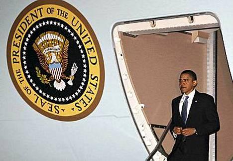 Barack Obama saapui Afganistaniin sunnuntaina.