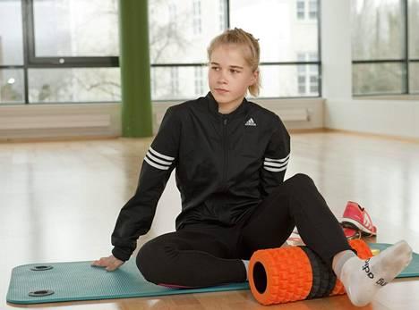 Alisa Vainio ei kilpaillut lainkaan viime vuonna.