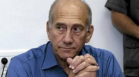 Ex-pääministeri Ehud Olmertin lahjusoikeudenkäynti alkoi vuonna 2009.