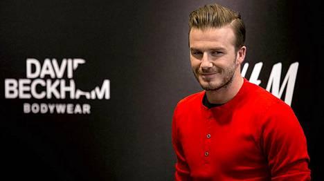 David Beckham on lähtenyt myös vaatejätti H&M:n malliksi.