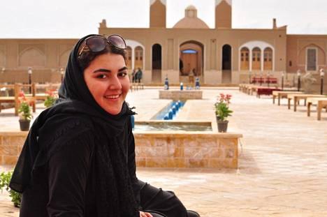 Ana lomalla Jerusalemissa vuonna 2014. Israelista hän jatkoi matkaansa Iraniin, missä hänen matkustusasiakirjansa takavarikoitiin.
