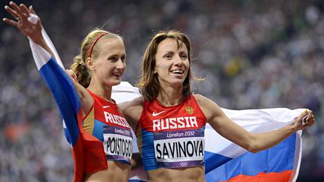 Maria Savinova (oik.) ja Jekaterina Poistogova eivät ole jääneet testeissä kiinni virallisten tietojen mukaan.