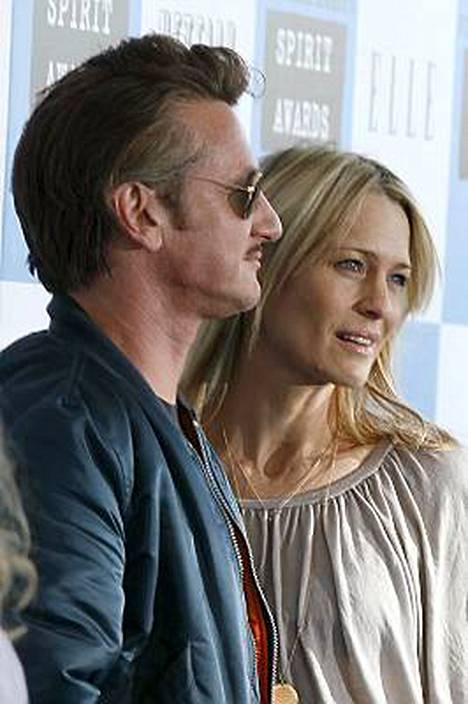 Sean Penn ja Robin Wright Penn eivät haluakaan erota.