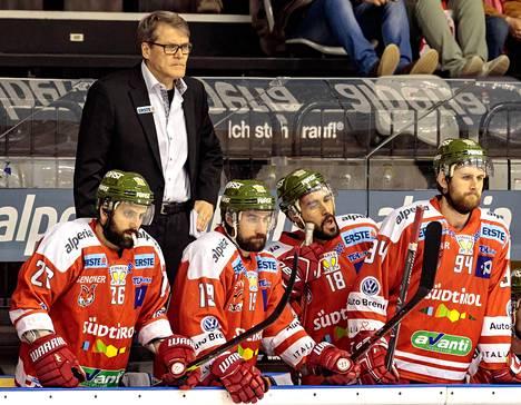Kai Suikkanen luotsasi Bolzanon Ebelin mestariksi.