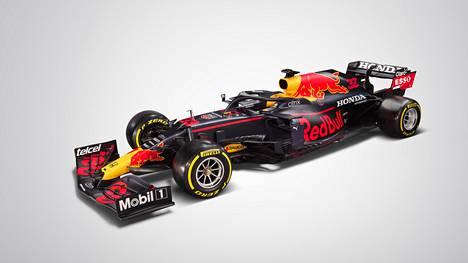 Red Bullin uusi F1-auto.