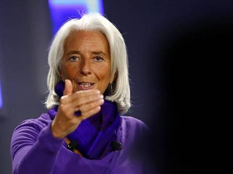 IMF:n pääjohtaja Christine Lagarde
