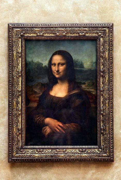Da Vincin teos saapui Louvreen vuonna 1804.