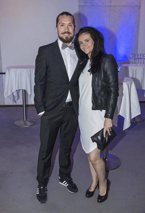 Taneli Mustonen ja Ella Kunnas.