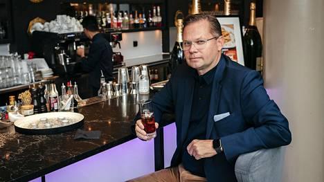Noho Partnersin toimitusjohtaja Aku Vikström kuvattuna Ravintola Teatterissa Helsingissä 29. syyskuuta 2020.