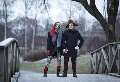 Pari asuu yhdessä Tampereella.