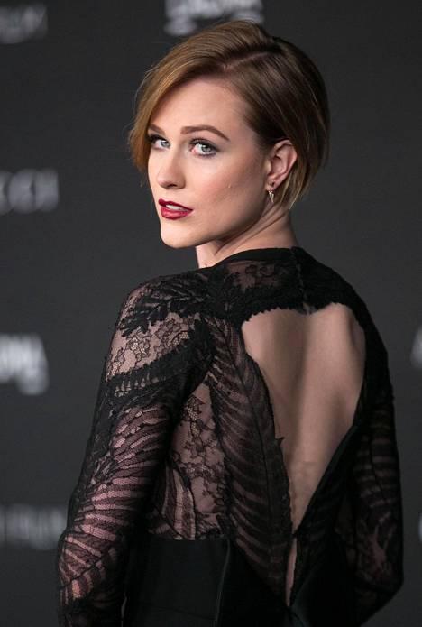 Evan Rachel Wood gaalassa vuonna 2014.