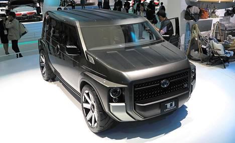 Toyota Tj Cruiser Concept yhdistää mielenkiintoisella tavalla pakettiauton ja katumaasturin ominaisuuksia. Autossa on keskitytty suuriin sisätiloihin ja muunneltavuuteen. Muotoilussa on haettu kulmikkuudella autolle voimakasta olemusta.