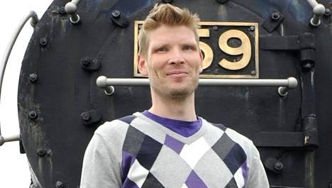 Tuomas Aho siirtyy HIFK:n riveihin. Kuva vuodelta 2012.