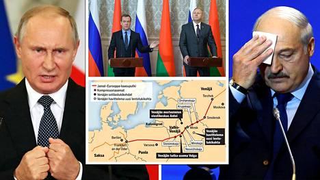 Venäjän ja Valko-Venäjän välillä on valtioliitto, joka solmittiin 1999. Se on ollut tähän asti voimassa lähinnä paperilla.