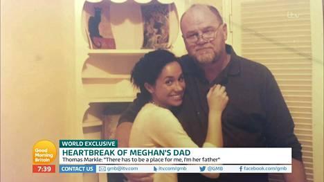 Meghanin ja Thomas Marklen tiedetään olleen erittäin läheisiä. Nyt isän ja tyttären välit ovat täysin tulehtuneet.