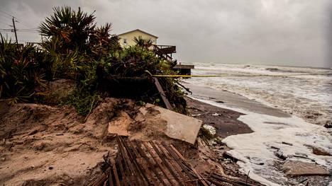 Hurrikaani Dorian teki tuhojaan Bahamalla syyskuun alussa.