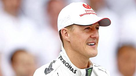 Michael Schumacher uransa viimeisessä F1-osakilpailussa Brasiliassa vuonna 2012.