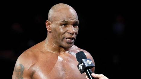 Mike Tyson on yhä erittäin tunnettu urheilupersoona.