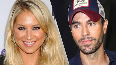 Enrique Iglesias seurustelee ex-tennistähti Anna Kurnikovan kanssa.