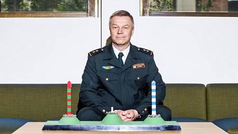 Kenraaliluutnantti Ilkka Laitinen on ollut Rajavartiolaitoksen palveluksessa eri tehtävissä vuodesta 1985 lähtien.