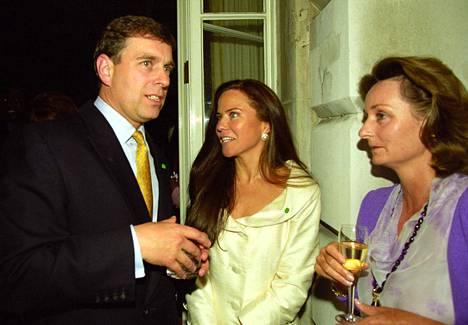 Prinssi Andrew ja Stark viettivät iltaa yhdessä kesällä 1999.
