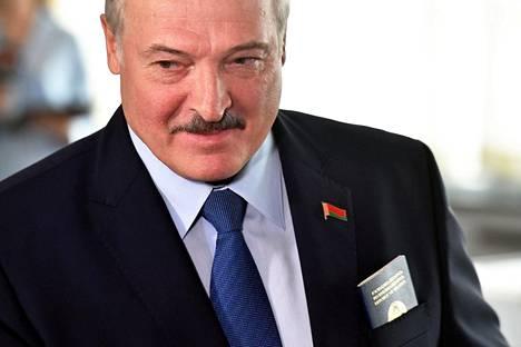 Aleksandr Lukashenko on ollut vallassa jo 26 vuotta.