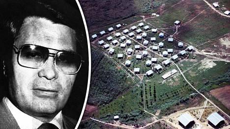 Kulttijohtaja Jim Jones perusti 1970-luvulla nimeään kantaneen yhteisön Guyanaan.