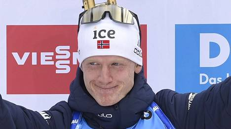 Johannes Thingnes Bö on tottunut voittamaan: hän on ampumahiihdon kymmenkertainen maailmanmestari ja olympiavoittaja.