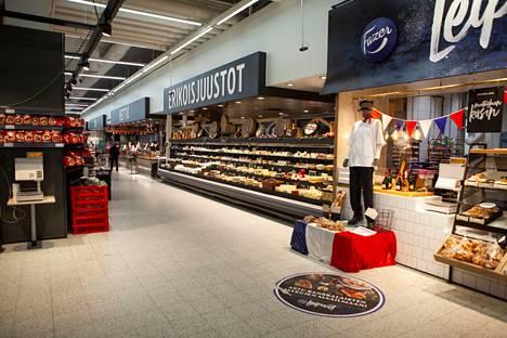K-Citymarket Easton on yhtä aikaa sekä herkku- että halpakauppa.
