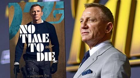 Daniel Craig palaa 007 No Time to Die -elokuvassa vielä kerran James Bondin rooliin.