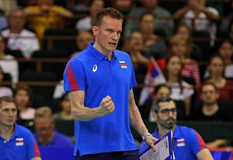 Tuomas Sammelvuo on valmentanut Venäjän maajoukkuetta viime keväästä saakka.