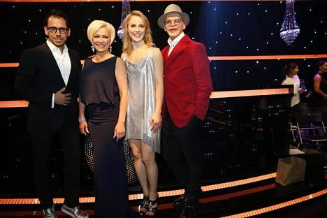 Uotinen on ollut vuodesta 2006 lähtien Tanssii tähtien kanssa -ohjelman tuomarina, ja jatkaa edelleen.