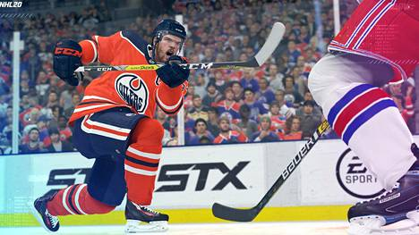 NHL20 on pelisarjan uusin tulokas.