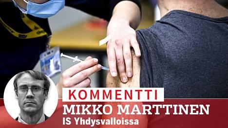 Suomalaiset ovat ottaneet innokkaasti koronavirusrokotuksia.