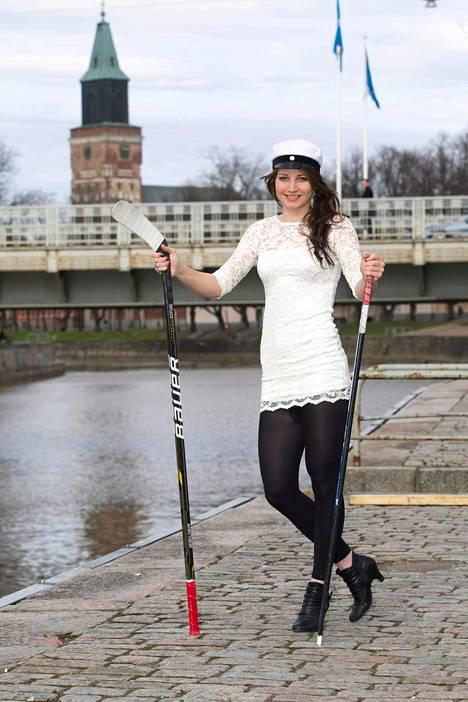 Susanna Tapani valmistui ylioppilaaksi vuonna 2012.