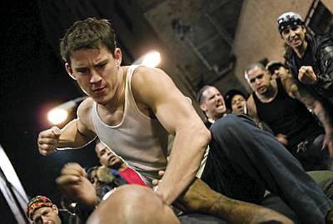 Channing Tatum elokuvassa Fighting.