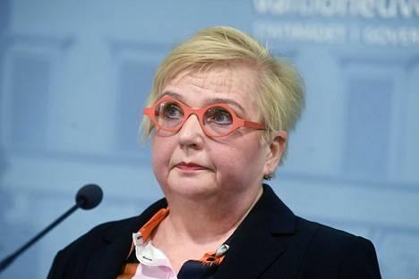 Kehittämispäällikkö Tarja Mankkinen.