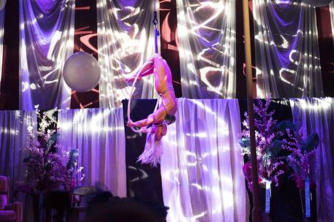 Gemman esitys piti sisällään muun muassa akrobatiaa, strippausta ja tankotanssia.
