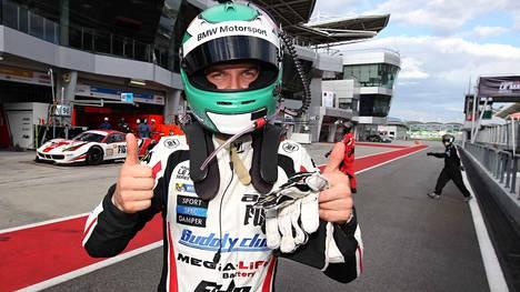 Jesse Krohn juhli viime talvena Aasian Le Mans -sarjan mestaruutta.