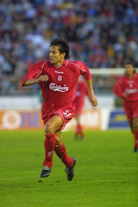 Jari Litmanen pelasi Liverpoolissa numerolla 37.