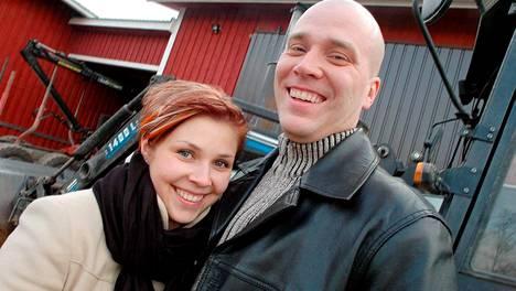 Harri ja Susanna kuvattuna vuonna 2007.