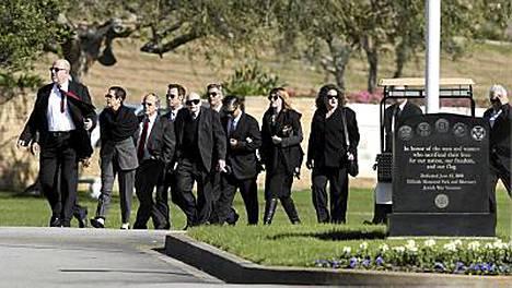 Chasen haudattiin sunnuntaina.