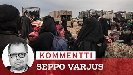 Kurdien vankeina al-Holin leirillä on tuhansia Isis-taistelijoiden omaisia.