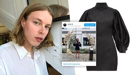 Miro Hämäläinen luotsaa muotimerkki Elzingaa ystävänsä ja suunnittelijakollegansa Lieselot Elzingan kanssa. Ensimmäisen malliston mekko päätyi Adelen ylle.