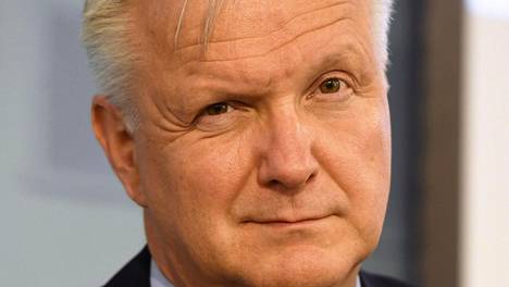Elinkeinoministeri Olli Rehn (kesk).