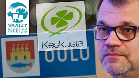 Juha Sipilän johtamalla Keskustalla on kannatusongelma Oulun vaalipiirissä.
