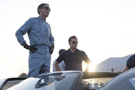 Bale ja Damon Le Mans 66 -elokuvassa.